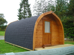 Exterior of Glamping Pod