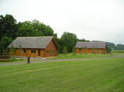 Pine Lodge chalets picture